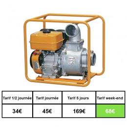Motopompe essence 54 m3 eau boueuse