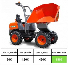 Location dumper 1500kg diesel