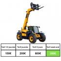 Location chariot télescopique 10ML godet/fourche