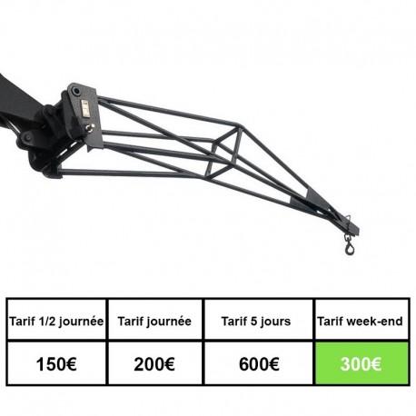 Chariot telescopique + potence