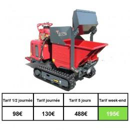Mini transporteur chenille