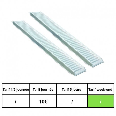 Rampes 500kg