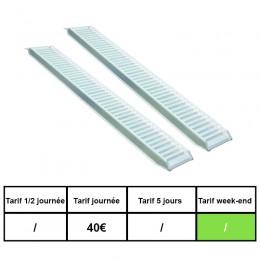 Rampes de chargement 5 tonnes